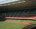 Millennium Stadium 3d model