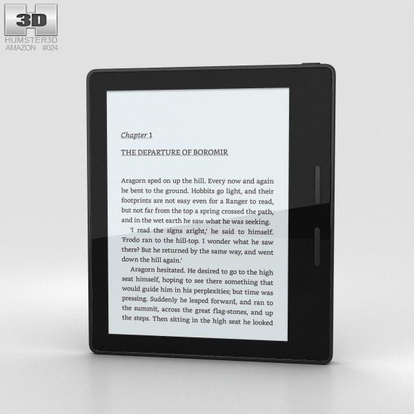 3D model of Amazon Kindle Oasis