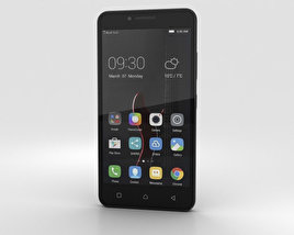 3D model of Lenovo Vibe C Black