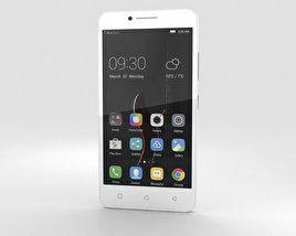3D model of Lenovo Vibe C White