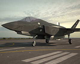3D model of Lockheed Martin F-35 Lightning II
