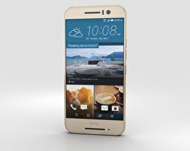 3D model of HTC One S9 Gold