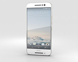 3D model of HTC One S9 Silver