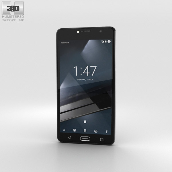 3D model of Vodafone Smart Ultra 7 Dark Grey