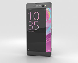 3D model of Sony Xperia XA Ultra Graphite Black