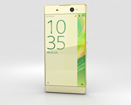 3D model of Sony Xperia XA Ultra Lime Gold