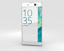 3D model of Sony Xperia XA Ultra White