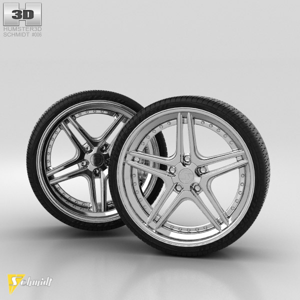 Schmidt FS Line Bundige Speichen 3D model