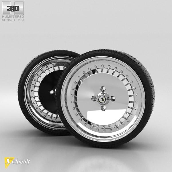 Schmidt TH Line 16 Zoll 3D model