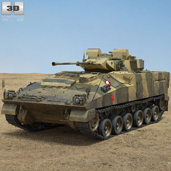 FV510 Warrior 3D model