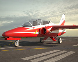3D model of SIAI-Marchetti S.211