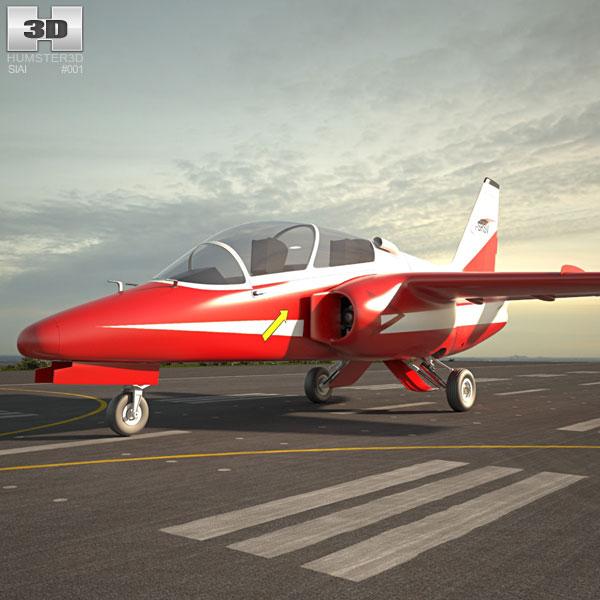 SIAI-Marchetti S.211 3D model