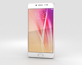 3D model of Vivo X7 Plus Rose Gold