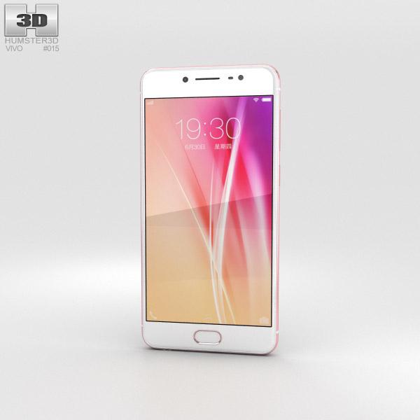 Vivo X7 Plus Rose Gold 3D model