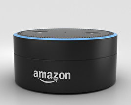 3D model of Amazon Echo Dot