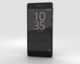3D model of Sony Xperia E5 Graphite Black