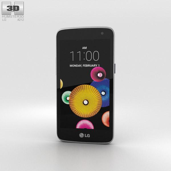 LG K4 Indigo 3D model