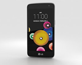 3D model of LG K4 White