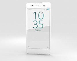 3D model of Sony Xperia E5 White