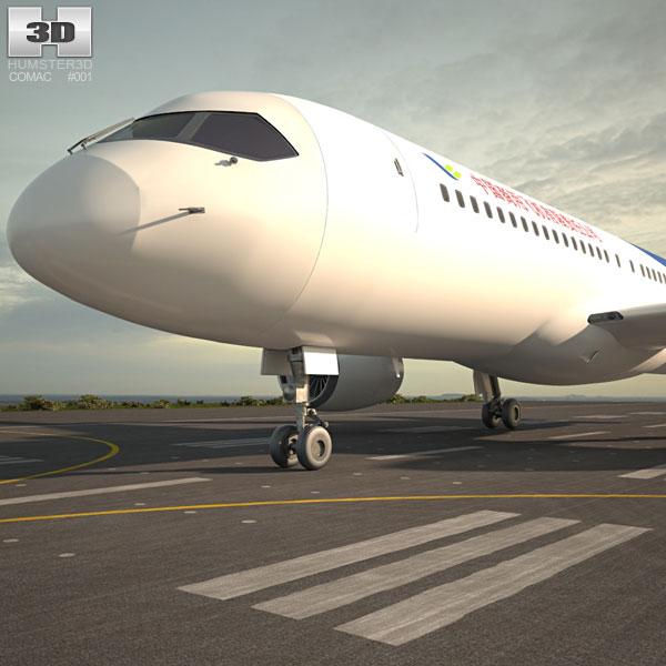 Comac C919 3D model