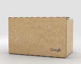 3D model of Google Cardboard