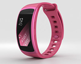 Samsung Gear Fit 2 Pink 3D model