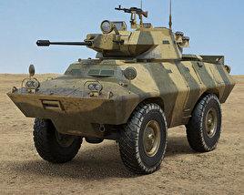 3D model of V-150 Commando