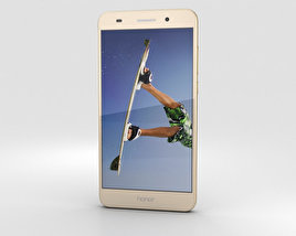 3D model of Huawei Honor 5A Gold