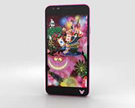 3D model of LG Disney Mobile on Docomo DM-02H Pink