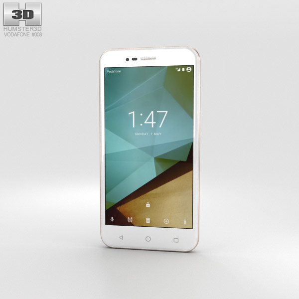 Vodafone Smart Prime 7 Boron White 3D model