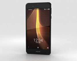 3D model of Sharp Aquos Xx3 Black