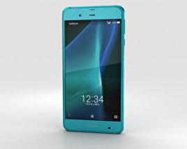 Sharp Aquos Xx3 Green 3D model