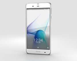 3D model of Sharp Aquos Xx3 White