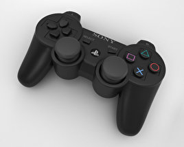 3D model of Sony PlayStation 3 Controller