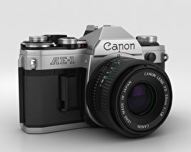 3D model of Canon AE-1