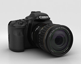 3D model of Canon EOS 7D