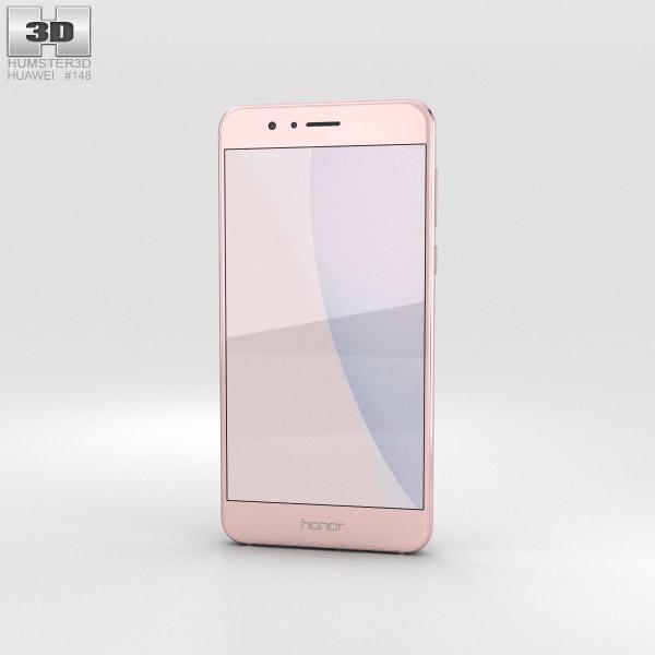 Huawei Honor 8 Sakura Pink 3D model