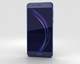 3D model of Huawei Honor 8 Sapphire Blue