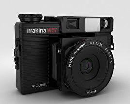 3D model of Plaubel Makina W67
