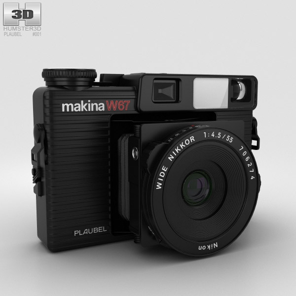 Plaubel Makina W67 3D model