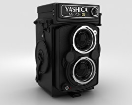 3D model of Yashica Mat 124g