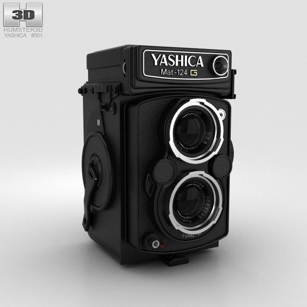 Yashica Mat 124g 3D model