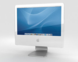 3D model of Apple iMac G5 2004