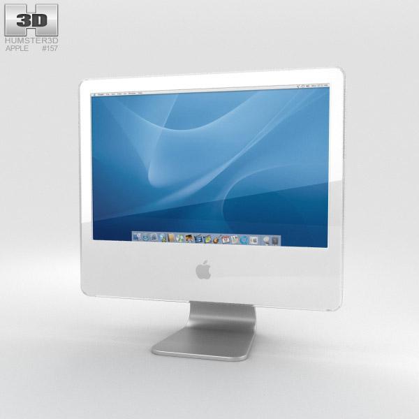 Apple iMac G5 2004 3D model
