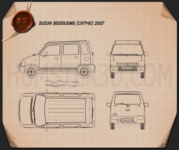Suzuki Beidouxing 2007 Blueprint