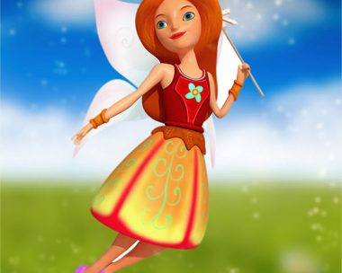 Fairy Character low poly