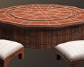 Arabic Furniture Table Free 3D model