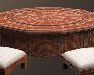 Arabic Furniture Table