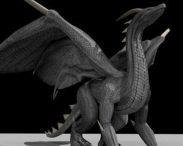 Black Dragon Rigged