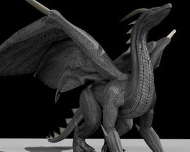 Black Dragon Rigged